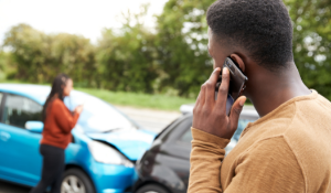 Car accident calling insurance company
