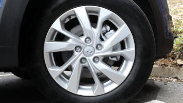 Image of Hyundai Powder Coated Alloy wheel