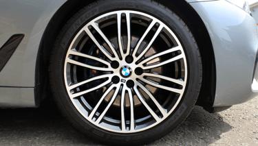 Image of BMW Diamond Cut Alloy Wheel