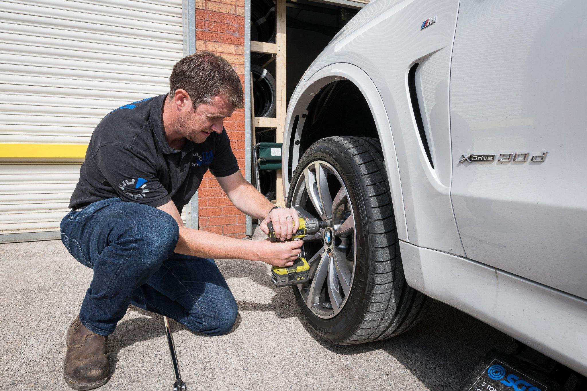 DA Tech Alloy wheel refurbishment