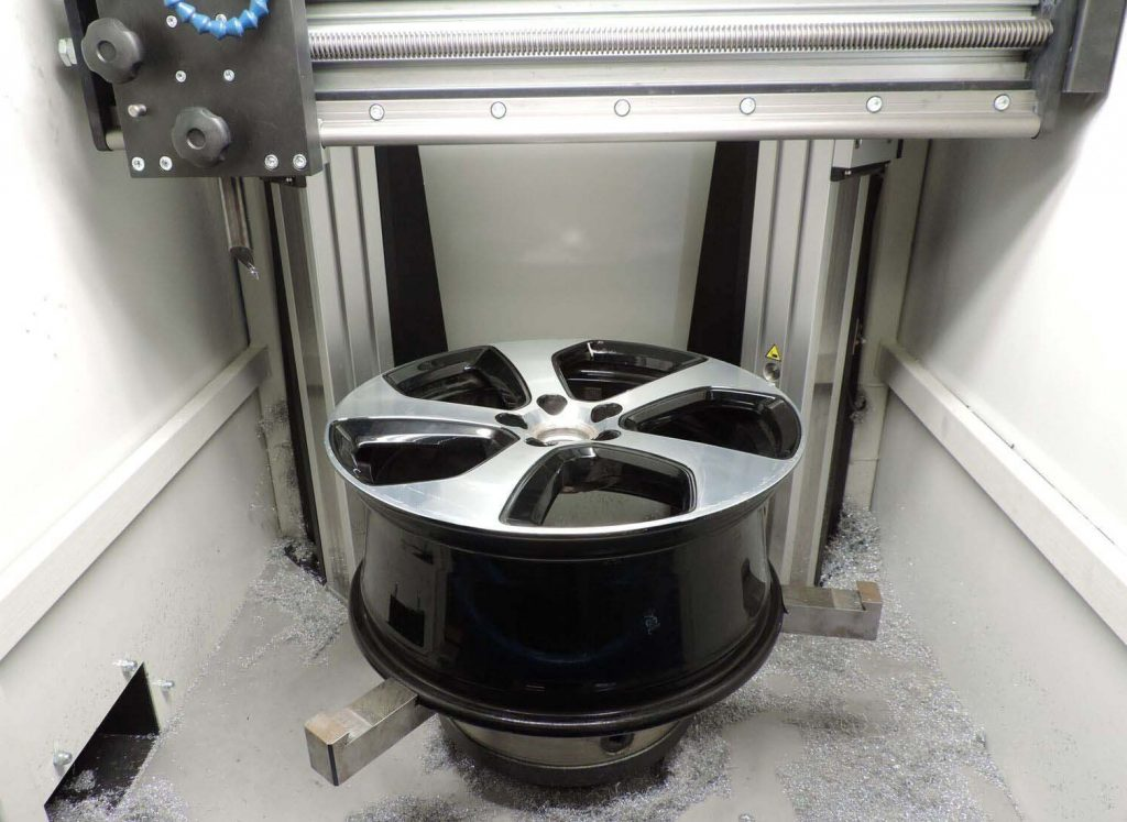 the process of refurbishing alloy wheels - Da Techs