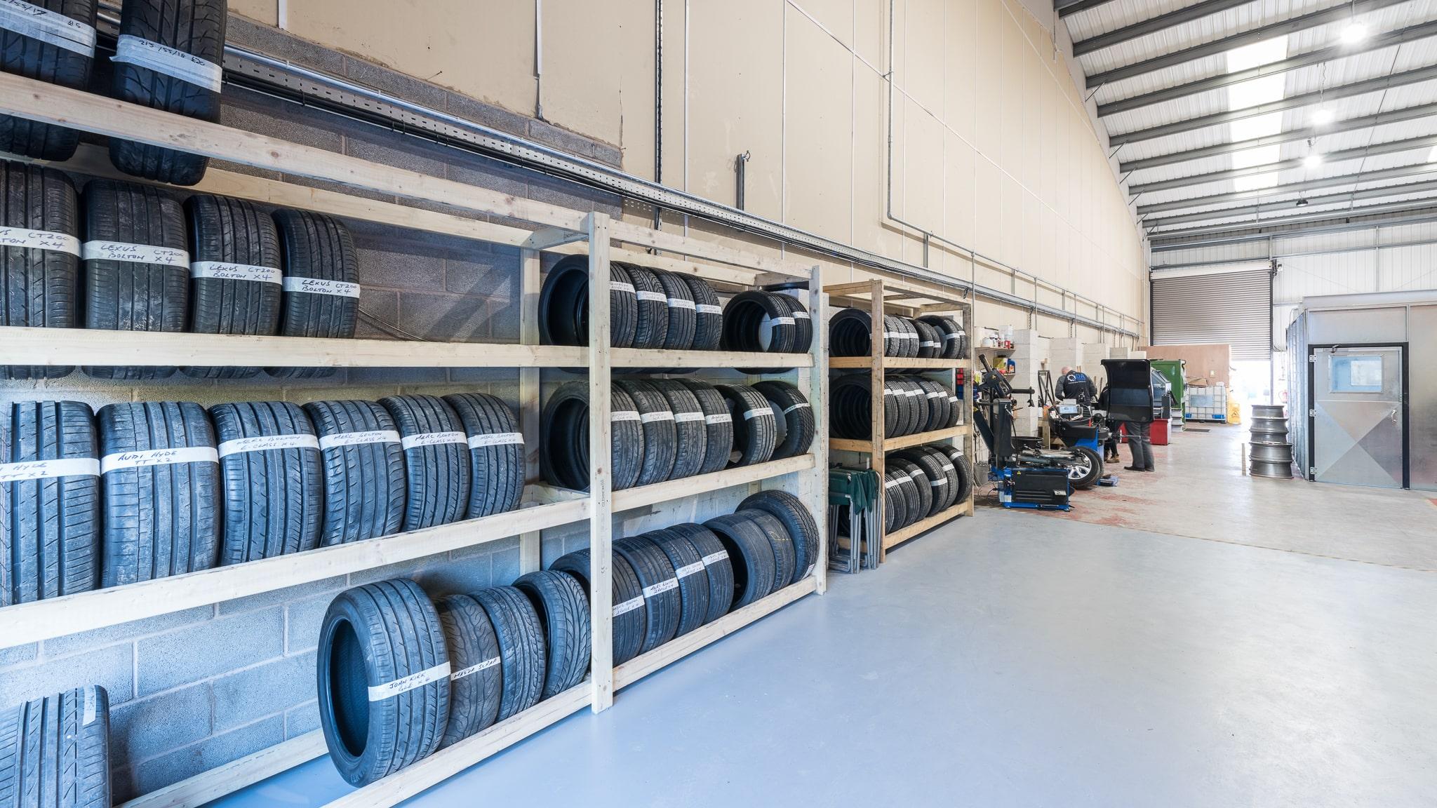 The DA Techs new unit in Adlington, Chorley