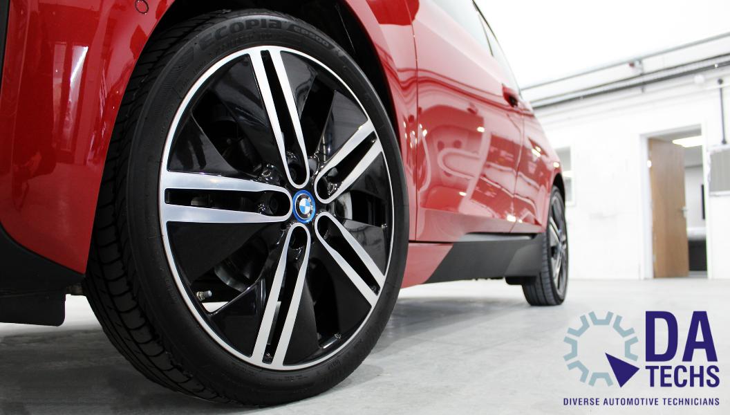BMW Wheel close-up