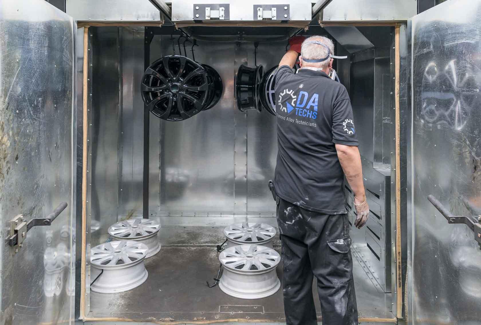 DA Techs - powder coating service