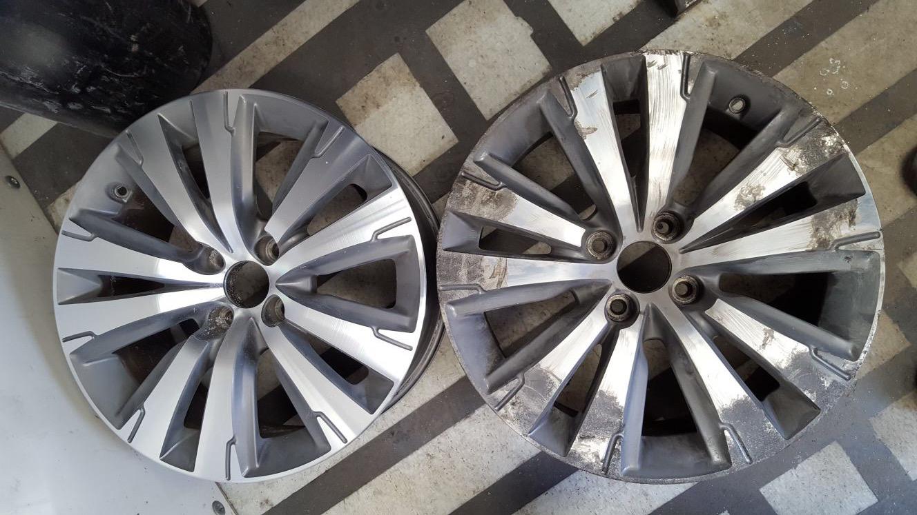 Diamond Cut Alloy Repair – Your Options