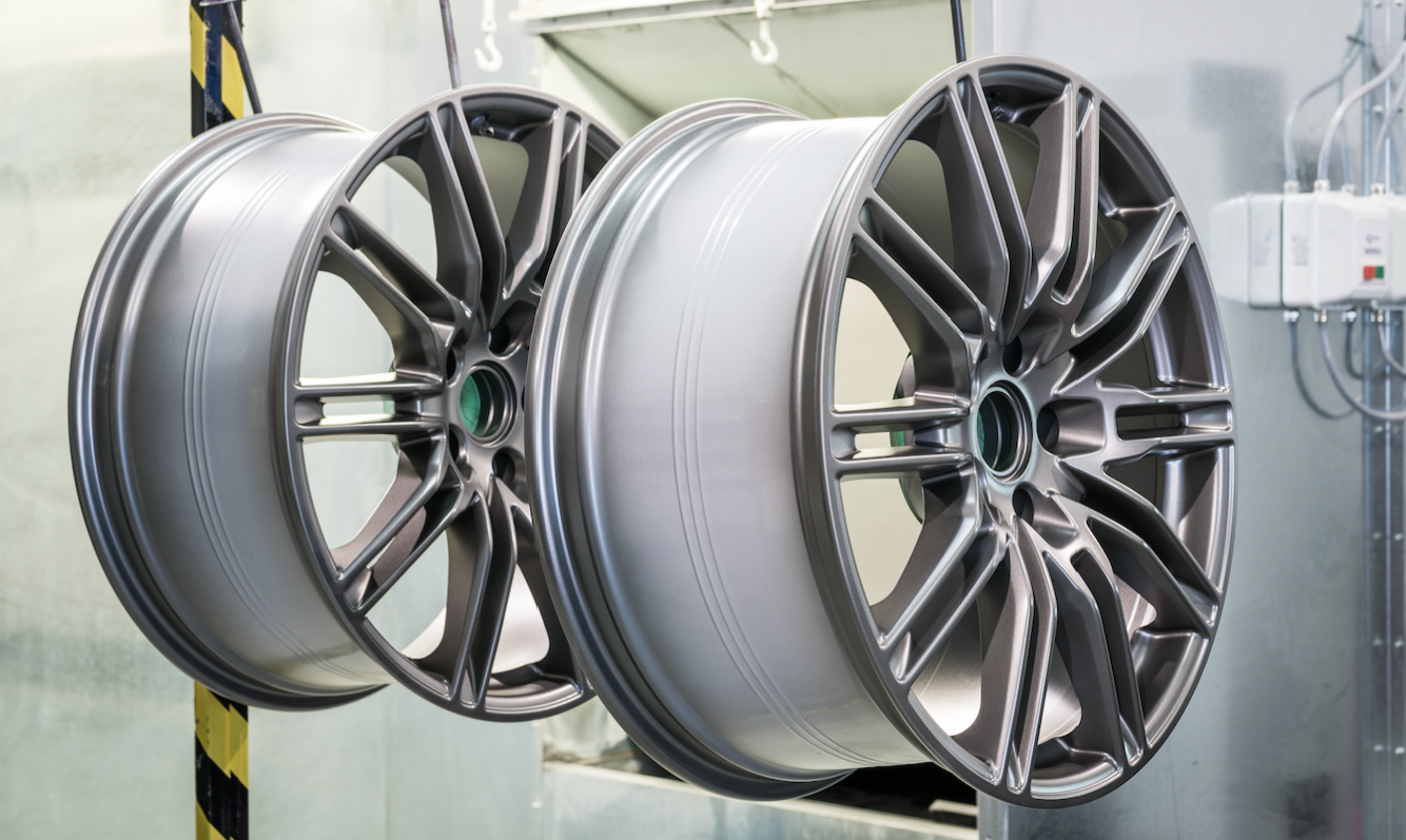 A Guide To Powder Coating Wheels