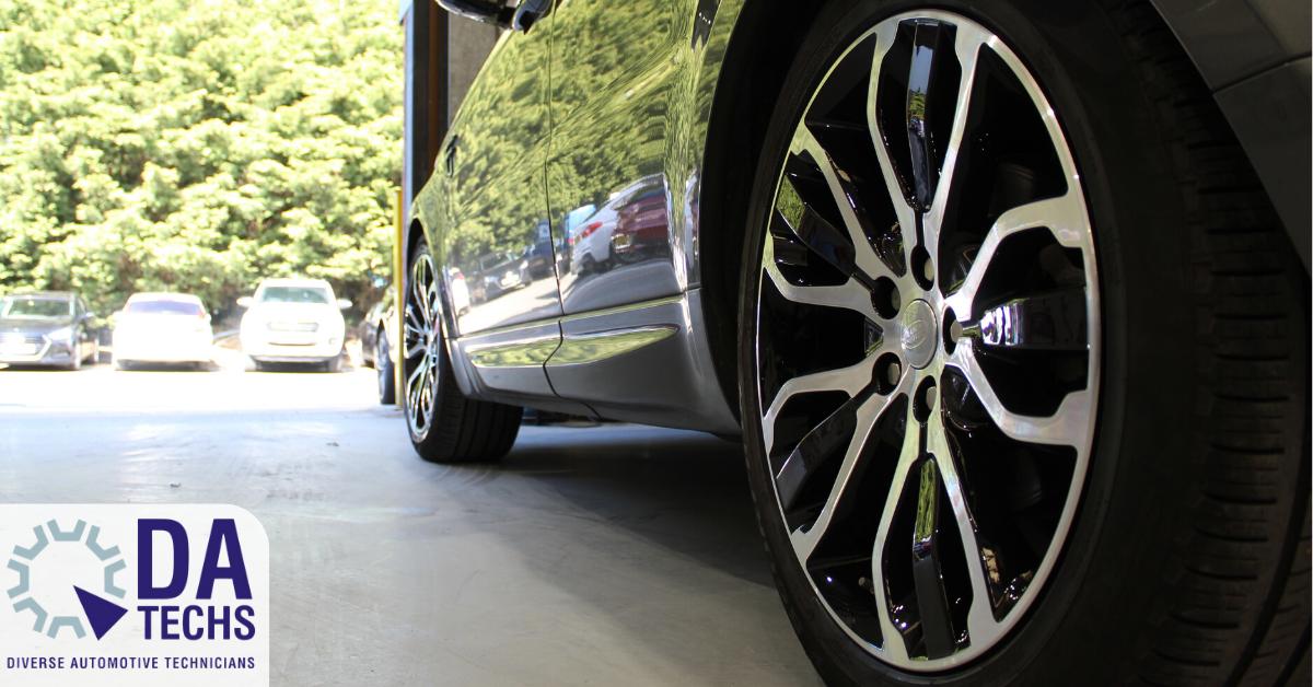 Land Rover Wheel Diamond Cut
